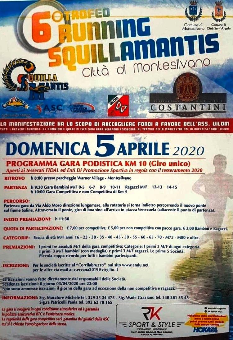 Locandina Squillamantis 2020