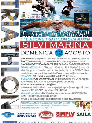 1° edizione di triathlon di silvi marina