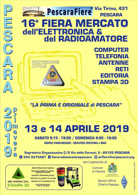 A Pescara la 16esima Fiera Mercato dell'elettronica e del Radioamatore