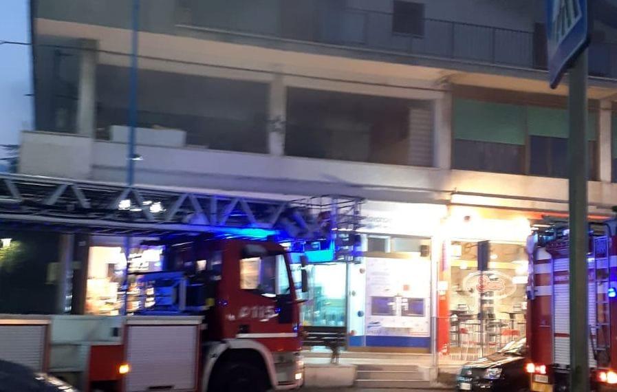 incendio corso umberto montesilvano 2-3