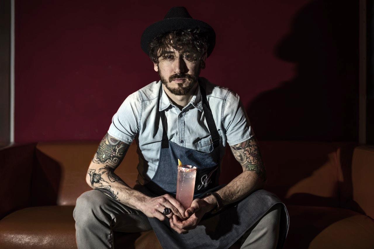 Alessandro di Fabrizio, barman de La Nuova Lavanderia di Pescara-2