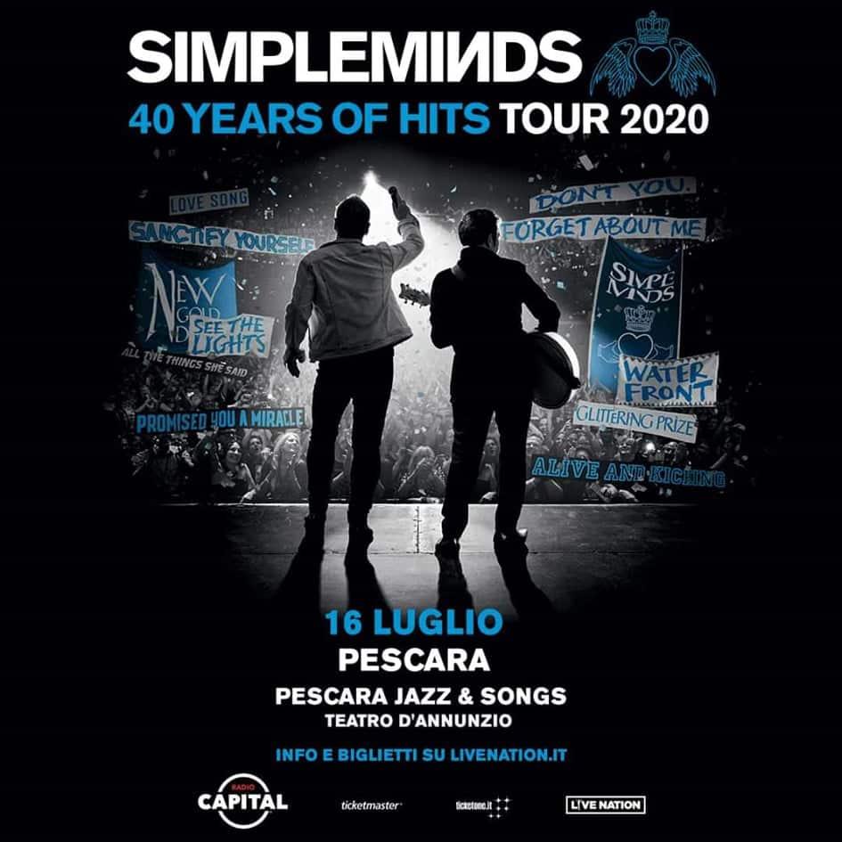 Simple Minds Pescara