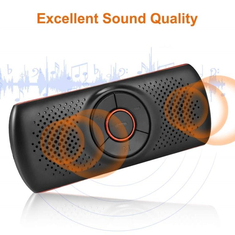 Kit vivavoce per auto Bluetooth Aigoss-2