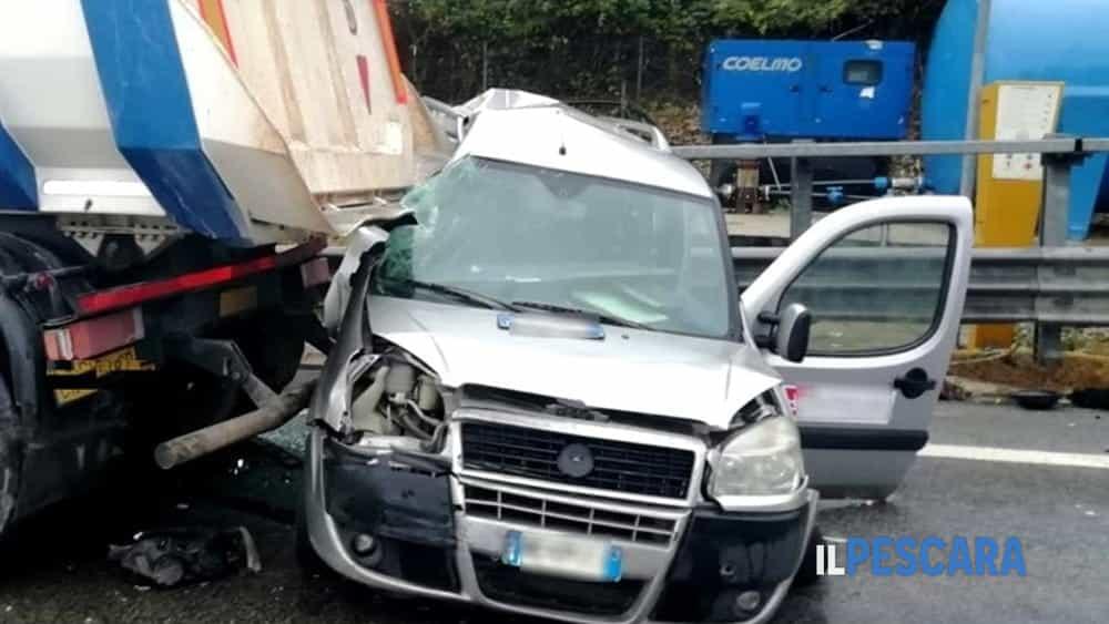 incidente autostrada a14 pescara francavilla 3 dicembre-2
