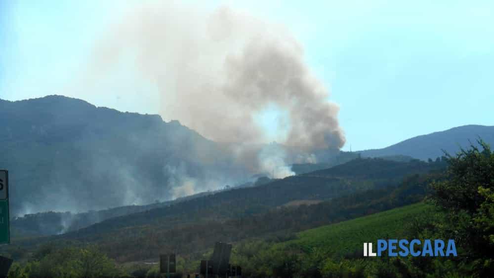 Incendio Castiglione a Casauria 668-2