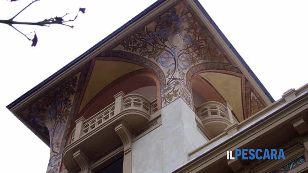 pescara liberty. passeggiata tra palazzi e ville dell'abruzzo art nouveau-10