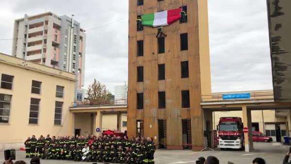 VIDEO | Santa Barbara 2019 a Pescara, i festeggiamenti dei vigili del fuoco
