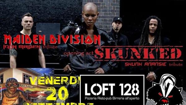 Maiden Division e Skunk'Ed, serata tra Iron Maiden e Skunk Anansie al Loft 128