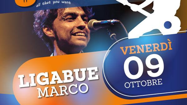 Marco Ligabue all'Osteria della Musica venerdì 9 ottobre