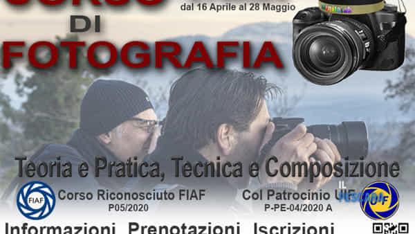 Corso base di fotografia a Pescara, ecco come iscriversi