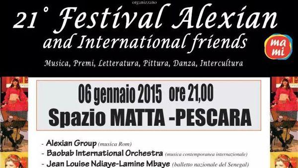 Alexian and International Friends allo Spazio Matta il 6 gennaio