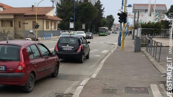 """Semaforo """"killer"""" a Montesilvano: è tutto a norma?"""