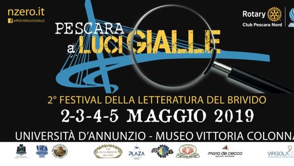 """""""Pescara a Luci Gialle"""",torna il Festival della Letteratura del Brivido: il programma"""