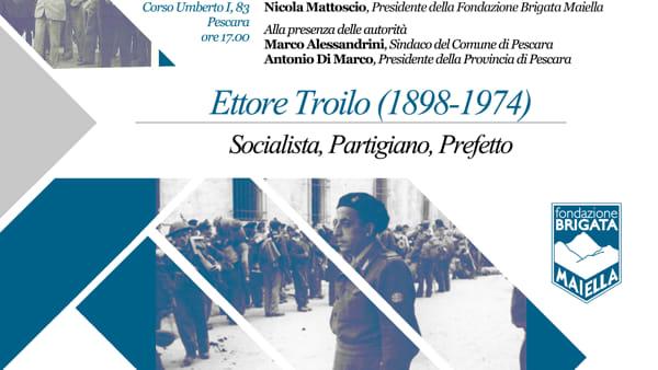 Consegna dei documenti di Ettore Troilo alla Fondazione Brigata Maiella