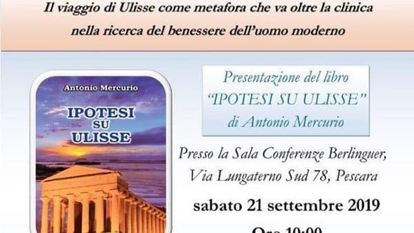 """A Pescara la presentazione del libro """"Ipotesi su Ulisse"""""""