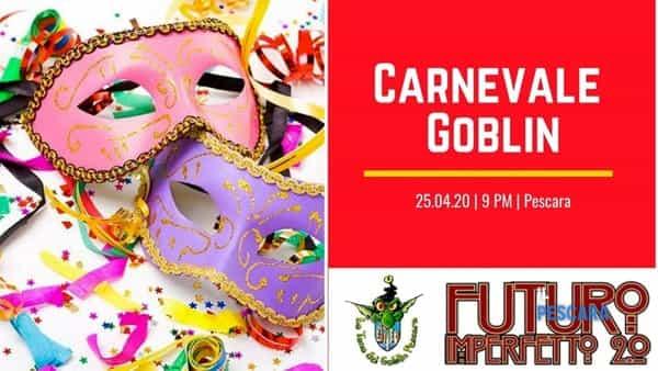 'Carnevale Goblin', festa in maschera al circolo Futuro Imperfetto 2.0 per il martedì grasso