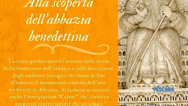 Alla scoperta dell'Abbazia Benedettina di San Clemente a Casauria