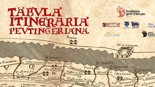 """""""Tabula Itineraria Peutingeriana"""" al Museo delle Genti d'Abruzzo"""