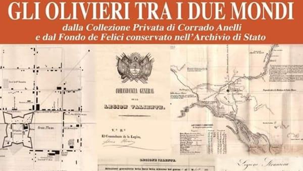 'Gli Olivieri tra i due mondi' all'Archivio di Stato