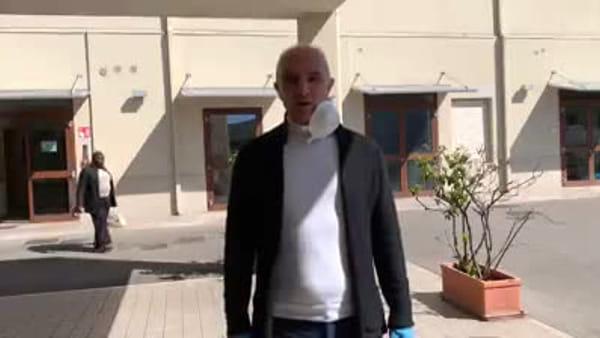 """Coronavirus, il sindaco Masci alla Cittadella dell'Accoglienza: """"Grazie a tutti i volontari pescaresi"""" - VIDEO -"""