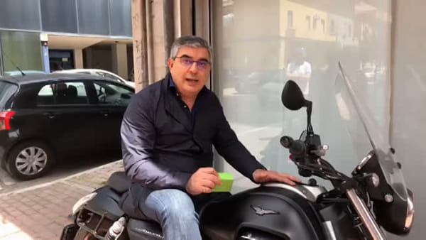 VIDEO | D'Alfonso attacca Marsilio in sella ad una moto