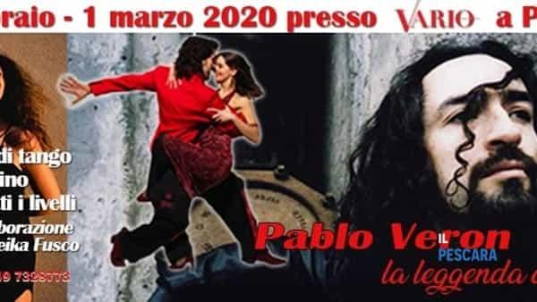 Stage di tango argentino con Pablo Veron a Pescara