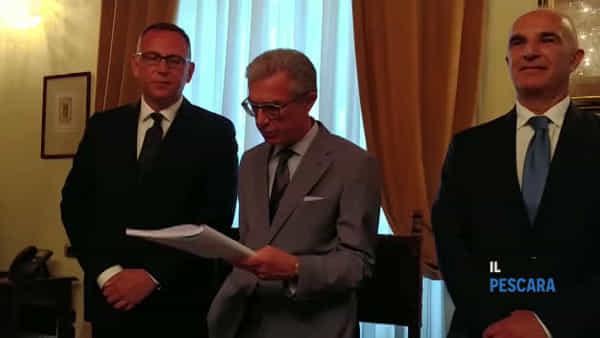 VIDEO | Proclamato ufficialmente il nuovo sindaco Carlo Masci