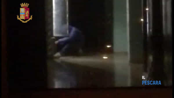 VIDEO   Ladro ripreso e arrestato dalla polizia mentre ruba nelle macchinette del liceo Galilei