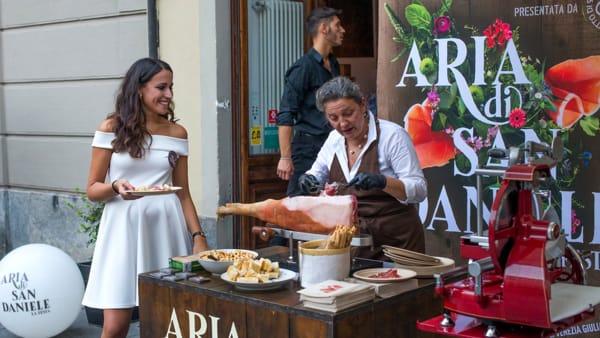 """""""Aria di San Daniele"""" arriva a Pescara con la degustazione del prosciutto Dop"""