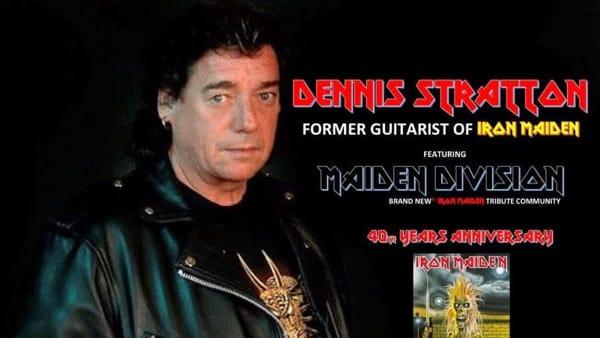 Dennis Stratton, ex chitarrista degli Iron Maiden, incontra i fan a Pescara