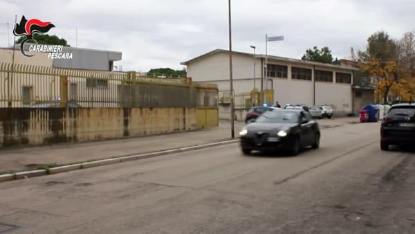 VIDEO   Spaccio di droga a Rancitelli, le immagini dell'operazione Iron Horse