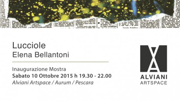 'Lucciole' di Elena Bellantoni all'Alviani ArtSpace