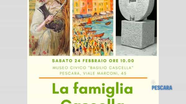 La famiglia Cascella, visita alla scoperta della vita di Basilio e figli