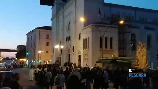 VIDEO | La Processione del Venerdì Santo dal Sacro Cuore a San Cetteo