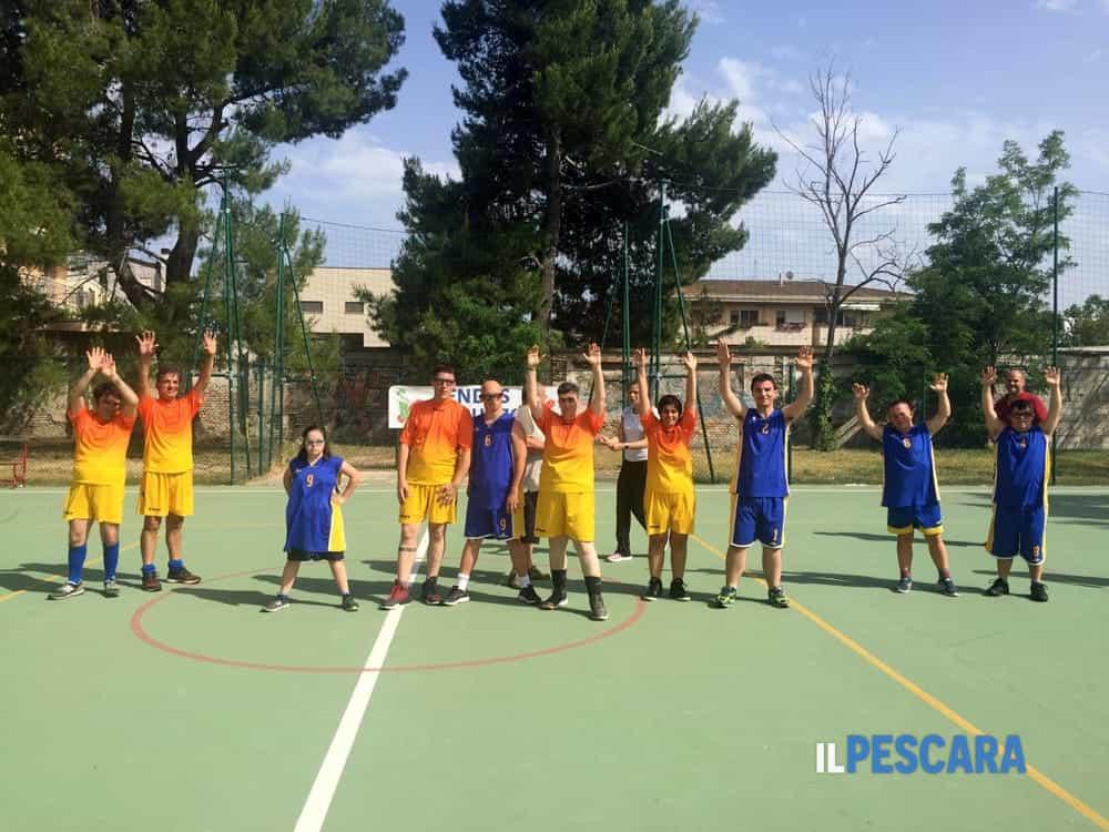 Basket, a Pescara il primo torneo per ragazzi con disabilità intellettiva relazionale