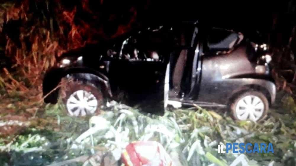 Auto finisce in una scarpata per evitare un cinghiale, ferite gravemente 2 donne-2